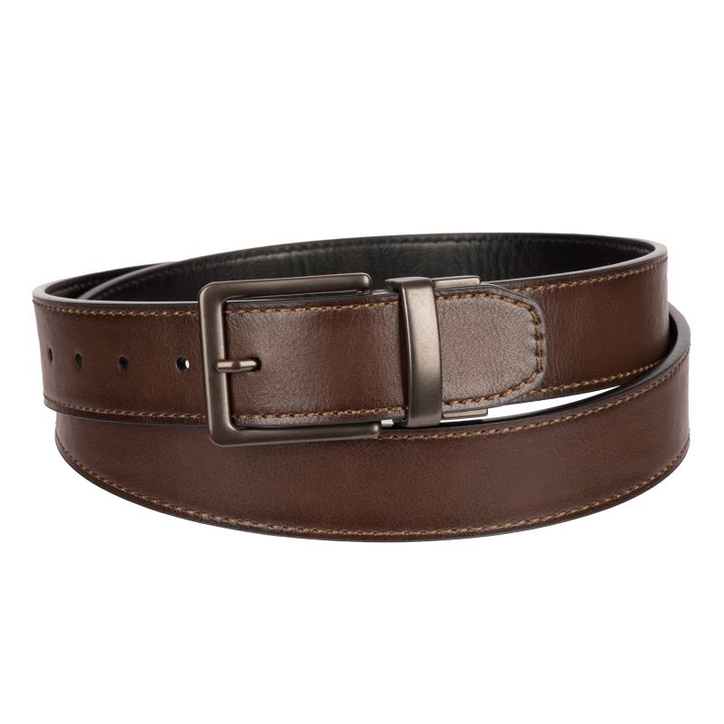 Levi's® Reversible Belt - Extended Size, Men's, Size: XXL, Dark Brown thumbnail