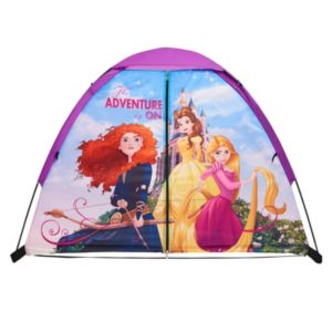 Disney Princess Merida, Rapunzel & Belle 4' x 3' Floorless Play Tent by Exxel Outdoors