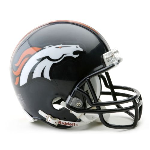 Denver Broncos Mini Helmet