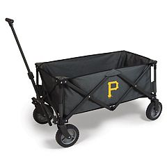 Picnic Time Pittsburgh Pirates Adventure Folding Utility Wagon by