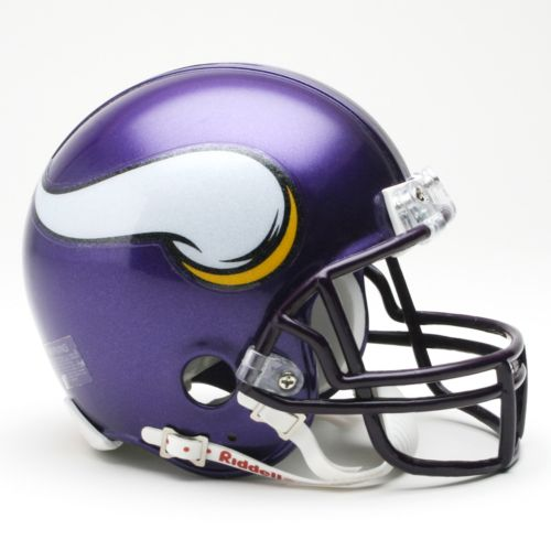 Riddell Minnesota Vikings Mini Helmet