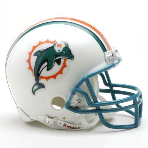 Riddell Miami Dolphins Mini Helmet