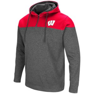 Men's Campus Heritage Wisconsin Badgers Top Shot Hoodie