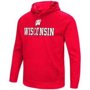 Men's Campus Heritage Wisconsin Badgers Sleet Pullover Hoodie