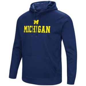 Men's Campus Heritage Michigan Wolverines Sleet Pullover Hoodie