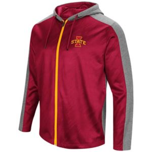 Men's Campus Heritage Iowa State Cyclones Sleet Full-Zip Hoodie