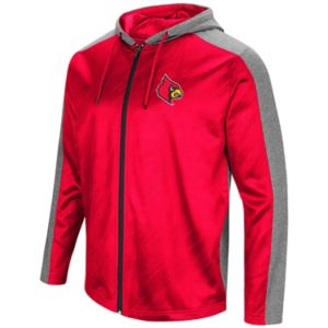 Men's Campus Heritage Louisville Cardinals Sleet Full-Zip Hoodie