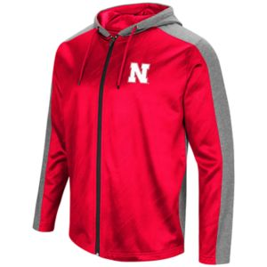 Men's Campus Heritage Nebraska Cornhuskers Sleet Full-Zip Hoodie