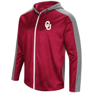 Men's Campus Heritage Oklahoma Sooners Sleet Full-Zip Hoodie
