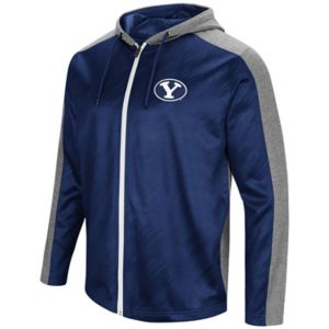 Men's Campus Heritage BYU Cougars Sleet Full-Zip Hoodie