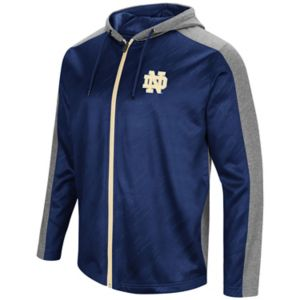 Men's Campus Heritage Notre Dame Fighting Irish Sleet Full-Zip Hoodie