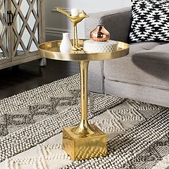 Safavieh Corvus Tray Top Round End Table  by