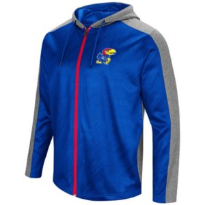 Men's Campus Heritage Kansas Jayhawks Sleet Full-Zip Hoodie