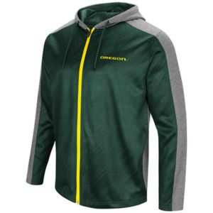 Men's Campus Heritage Oregon Ducks Sleet Full-Zip Hoodie