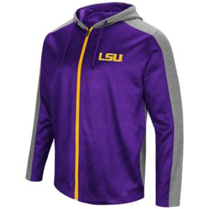 Men's Campus Heritage LSU Tigers Sleet Full-Zip Hoodie