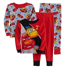 Disney / Pixar Cars 3 Toddler Boy 4-pc. Cruz & Lightning McQueen Pajama Set by