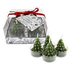 Chesapeake Bay Candle Fresh Balsam Tealight Candle 4-piece Set  by