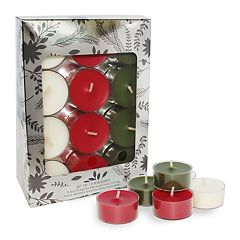 Chesapeake Bay Candle Cinnamon, Balsam & Vanilla 12-piece Tealight Set  by