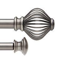 Umbra Spokes Double Curtain Rod Set