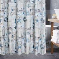 Popular Bath Products Sail Away Shower Curtain