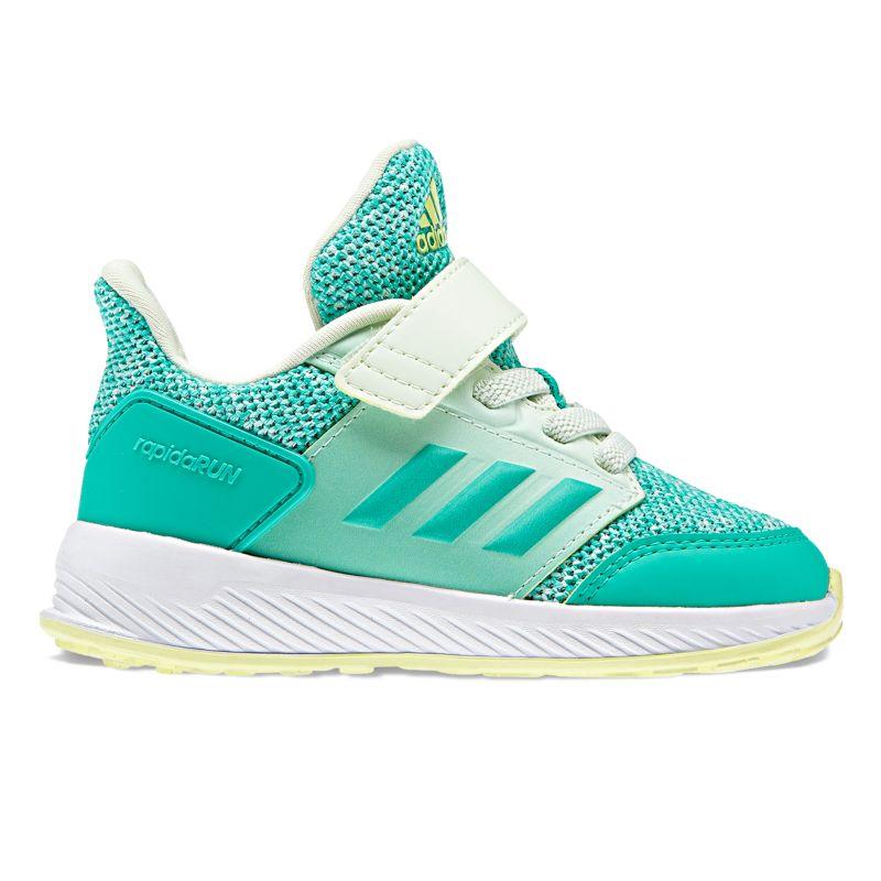 Adidas Rapida Run Toddler Girls' Sneakers, Size: 5 T, Multicolor thumbnail