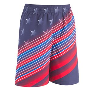 Boys 8-20 Under Armour Stars & Stripes Volley Shorts