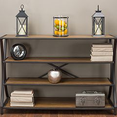 Baxton Studio Lancashire Industrial Console Table  by
