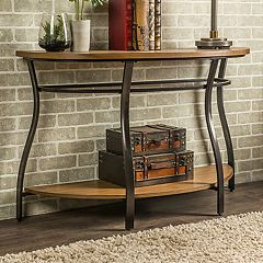 Baxton Studio Newcastle Industrial Console Table  by