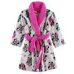 Disney's Minnie Mouse Toddler Girl Fleece Robe