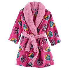 Toddler Girl My Little Pony Pinkie Pie & Rainbow Dash Fleece Robe