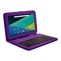 Visual Land Prestige Elite 10Ql Quad Core 16GB 10-1-Inch Android 5 Lollipop Tablet with Keyboard Case (ME10QL16KCMAG)