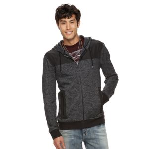 Men's Rock & Republic Mixed Media Hoodie