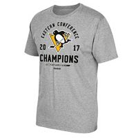 Men's Reebok Pittsburgh Penguins 2017 Conference Champions Classic Tee