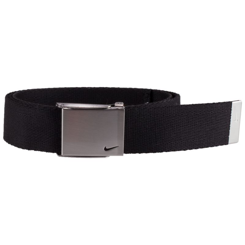 Men's Nike Golf Single Web Belt, Black thumbnail