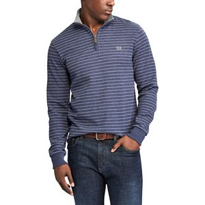 Men's Chaps Classic-Fit Easy-Care Quarter-Zip Pullover