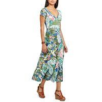 Women's Chaps Floral Midi Dress
