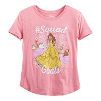 Disney's Beauty and the Beast Belle Girls Plus Size Squad Goals Graphic Tee