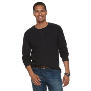 Men's SONOMA Goods for Life™ Classic-Fit Soft-Touch Stretch Thermal Henley