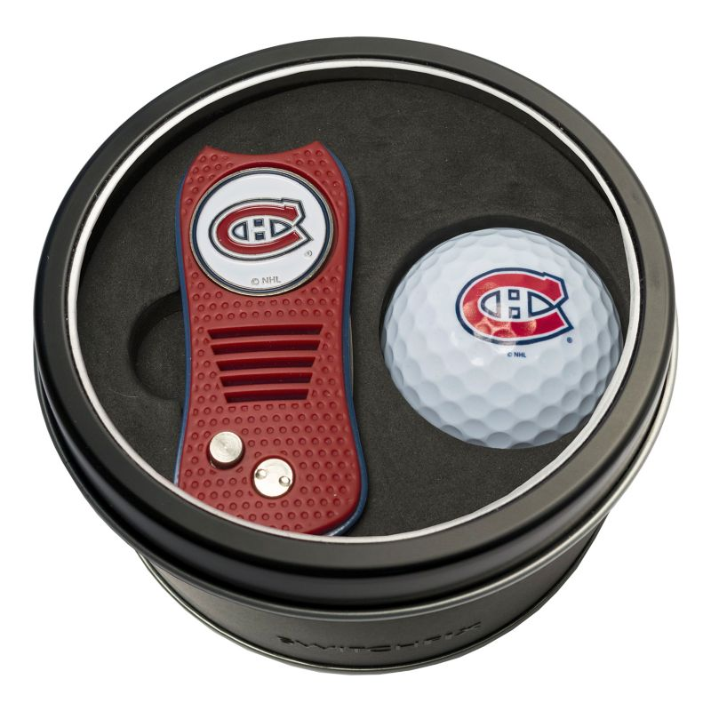 Team Golf Montreal Canadiens Switchfix Divot Tool & Golf Ball Set, Multicolor thumbnail