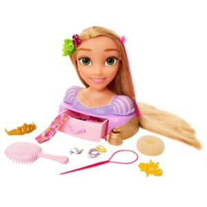 Disney Princess Rapunzel Long Locks Styling Head