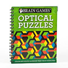 Brain Games Optical Puzzle Book by Publications International, Ltd. by