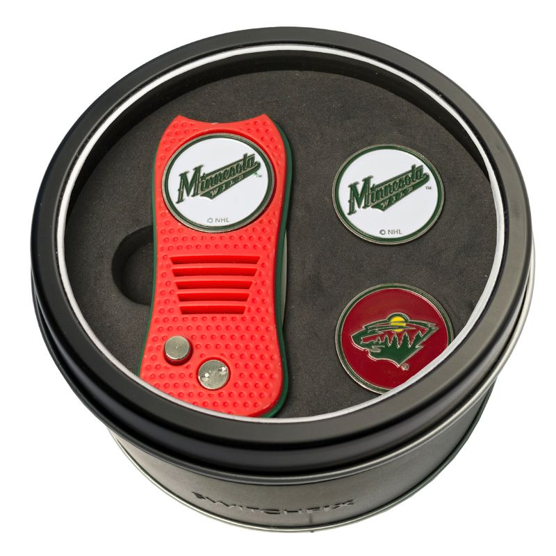 Team Golf Minnesota Wild Switchfix Divot Tool & Two Ball Markers, Multicolor thumbnail