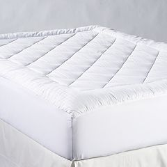 Chaps 500 Thread Count Maximum Comfort SuPima Cotton Mattress Pad by