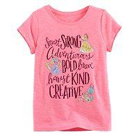Disney Princess Toddler Girl Belle, Rapunzel & Ariel Tee by Jumping Beans®