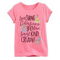Disney Princess Girls 4-7 Belle, Rapunzel & Ariel Tee by Jumping Beans®