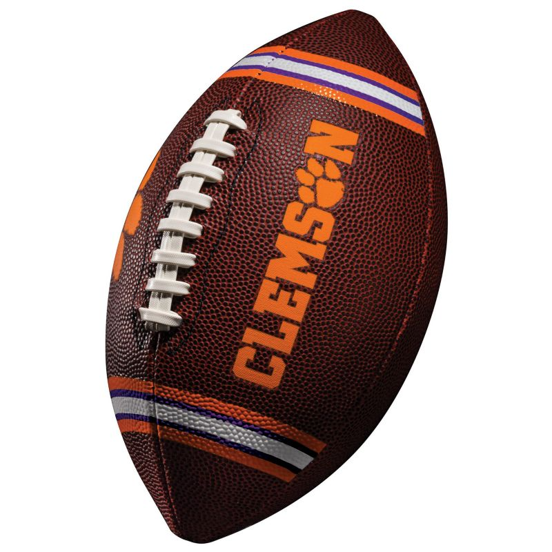 Franklin Clemson Tigers Junior Football, Multicolor thumbnail