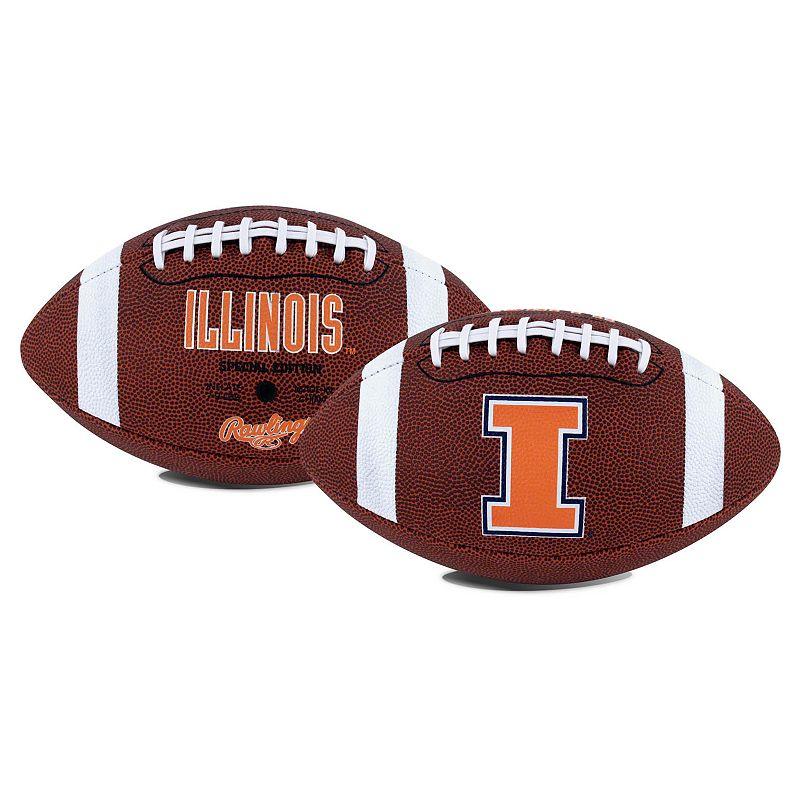 Rawlings Illinois Fighting Illini Game Time Football