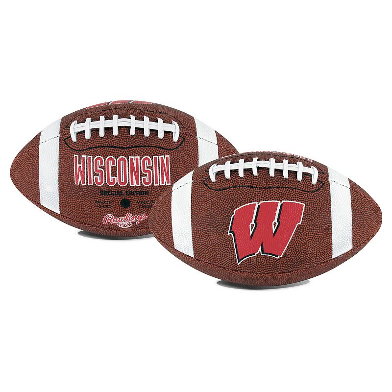 Rawlings Wisconsin Badgers Game Time Football