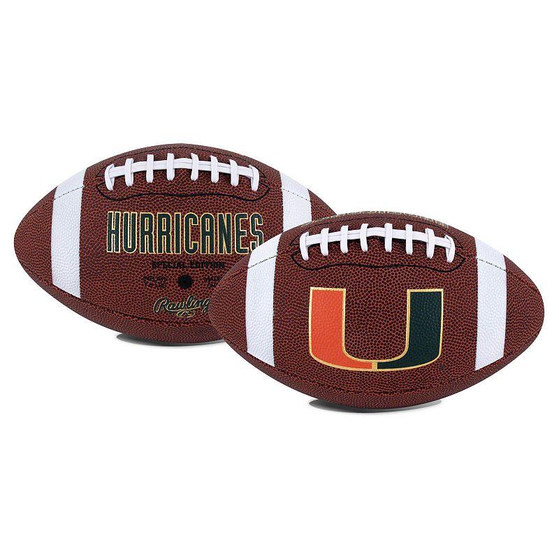 Rawlings Miami Hurricanes Game Time Football
