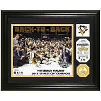 Pittsburgh Penguins 2017 Stanley Cup Champions Framed Coin
